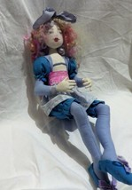 """Artist OOK Doll by Wendy Barber """"Cotton Candy"""" 2008 Signed Genisis Serie... - $59.40"""