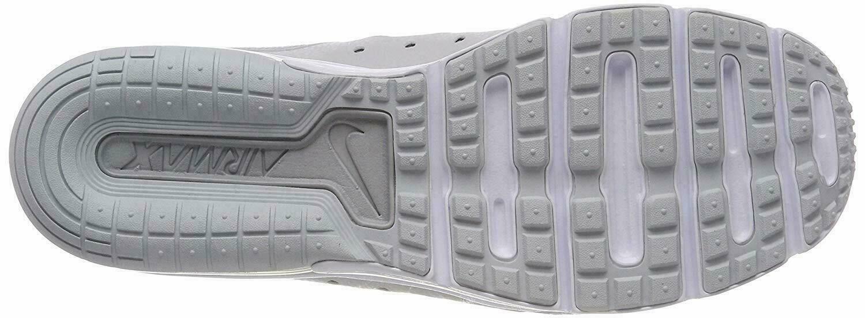 MEN'S NIKE AIR MAX SEQUENT 3 SHOES platinum black white 921694 008 MSRP $100
