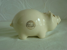 New York University Souvenir Piggy Bank - $12.00