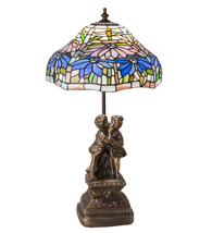 "23"" High Poinsettia Accent Lamp - $705.00"