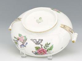 Vintage Wedgwood England Cathay Pattern Bone China Covered Vegetable image 5