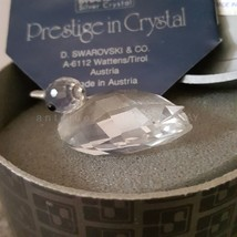 Swarovski Crystal Mini Duck 7653 045 000 Box Coa - $32.50