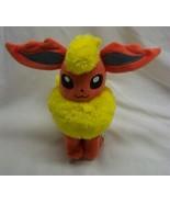 "TOMY Nintendo Pokemon SOFT FLAREON 8"" Plush STUFFED ANIMAL Toy 2017 - $29.70"