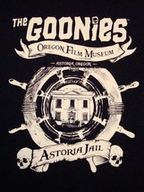 The Goonies Astoria Jail Oregon Film Museum T Shirt L - $17.81
