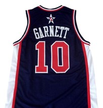Kevin Garnett #10 Team USA Men Basketball Jersey Navy Blue Any Size image 2