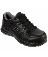 Skechers Work Black Shoes Women Memory Foam Slip Resistant Alloy Toe Saf... - $49.99