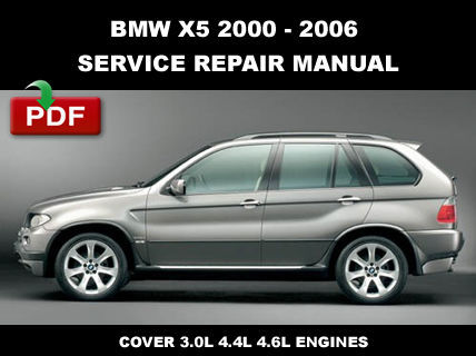 # OFFICIAL WORKSHOP  MANUAL service repair FOR BMW X5 E53 2000-2006