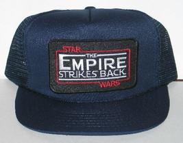 Star Wars The Empire Strikes Movie Name Logo Patch Baseball Hat, NEW UNWORN - $18.37