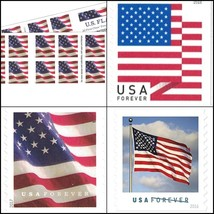 US Flag USPS Forever Stamps - 40 Stamps (two books of 20) - $37.58