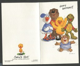 2 Vintage Greeting Cards Happy Birthday from All of Us tmrk Hallmark n S... - $3.00
