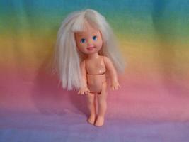 Mattel Barbies Little Sister Kelly Doll Blonde Hair Blue Eyes Nude - spl... - $4.90