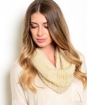 Women's Knit Cowl & Infinity Scarves - Beige (J0160734) - $9.99