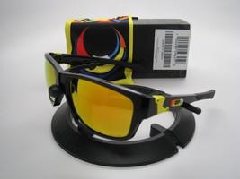 Rare Oakley Édition Limitée Valentino Rossi Jupiter Sqd Polis Noir W / Feu - $254.80