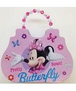 Disney Minnie Mouse Cute Tin Purse Carry Case Pink - $13.99