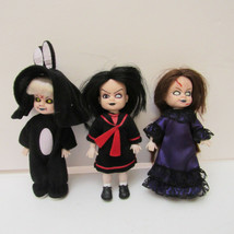 Living Dead Dolls MINI Trio Club Mez Hong Kong Exclusive LTD Edit DEBOXE... - $75.00
