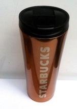 Starbucks 2013 Copper / Rose Gold 12oz Tumbler - $26.00