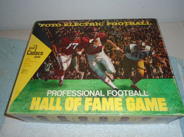 VINTAGE 1971 CADACO FOTO-ELECTRIC PRO FOOTBALL HALL OF FAME GAME - $24.99