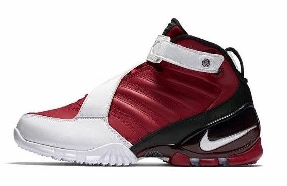 1c97e616230c NIKE ZOOM VICK III SHOES RED BLACKWHITE SIZE 9.5 BRAND NEW (832698-600)