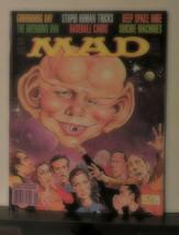 Mad Magazine 321 September 1993 Alfred E Neuman as Spock Star Trek Front Cover - $9.90