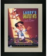 "Leisure Suit Larry - Game Advert - Framed Picture - 11"" x 14"" - $33.00"