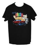 Route 66 Black Screen Print Crew Neck T-Shirt Short Sleeve Cotton (Med, ... - $6.50