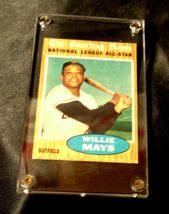 Willie Mays Baseball Trading Card # 395 Outfield- Nash AA19-BTC4006 Vintage Coll image 5