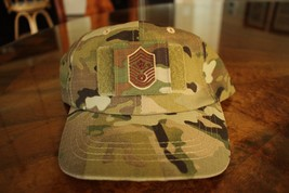 Usaf Us Air Force Multicam Ocp I/A E-9 ** Camouflage Combat Ballcap Ball Cap Hat - $29.69