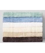 """Hudson Park Cotton Reversible Rug, 21"""" X 33"""" Color Aqua Blue - $25.99"""