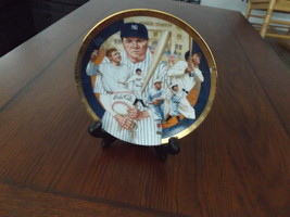 Collectors Plate Featuring Babe Ruth From The Hamilton Collection 1992 #4775C - $48.00