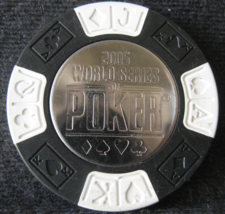 """N/D Obsolete Casino Chip From: """"2005 World Series Of Poker"""" - (sku# 4766) - $5.29"""