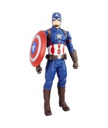 Marvel Avengers Electronic Captain America, 12-inch Hasbro Super Well Pa... - $31.39