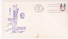 SMS-B Launch Straight 8 Thor Delta Cape Canaveral Feb 6 1975 Whitney - $1.98