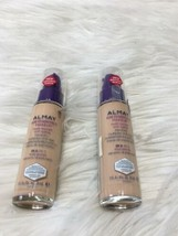 2 Almay Age Essentials Makeup 100 Fair 1 oz each Expired Bs03 - $7.69