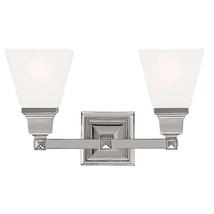 Mission 2 Light Polished Nickel Bath Vanity - new (hd) - $178.61