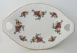 Royal Albert Old Country Roses Victorian Tray Porcelain - $19.99