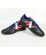 Adidas Women's Ace 17.4 TF Soccer Shoe Black Easy Coral Dark Blue Size 9.5 - $62.36