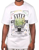 LRG Fresh Outdoors We're Rooting For You Weed Plant Marijuana Growing T-Shirt NW image 1