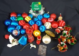 Lot of Vintage Christmas Tree Ornaments - $14.84