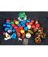 Lot of Vintage Christmas Tree Ornaments - $14.84