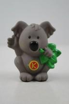 """FISHER PRICE LITTLE PEOPLE Alphabet Zoo Letter """"K""""  Koala Bear - $4.94"""