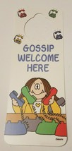 NOS Vintage 1993 Novelty Door Hanger Cathy Guisewite Comic Take Me Out t... - $8.95