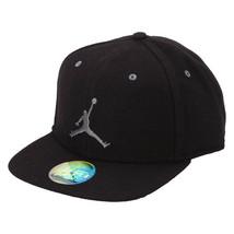 Nike Jordan Retro XII 12 Wool Strap-back Hat Black New One Size Warm 811461 - $28.49