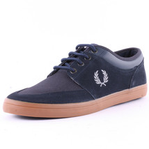 Fred Perry Men's Stratford Suede Leather Trainers Casual Shoes B6288-608... - $69.97