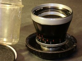 Carl Zeiss Pro-Tessar Lens f=115mm with fitted Zeiss Ikon Case AA-192033 Vintage image 6
