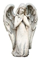 """10""""H Kneeling Contemporary Angel by Roman - $28.35"""
