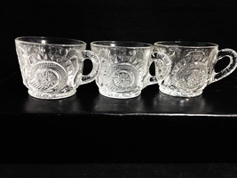 SLEWED HORSESHOE Radiant Star LE Smith Punch Cups Set of 3 Free Ship - $15.35