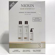 Nioxin System 3 Starter Kit Shampoo Conditioner Scalp Treatment 5.07 oz NEW - $18.49