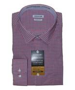 Mens Haggar Premium Comfort Dress Shirt XXL 18 18.5 36/37 NWT FREE SHIPPING - $21.77