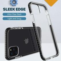 """MATEPROX iPhone 11 Pro 5.8"""" Case, Slim, Transparent Cover (Black)"""