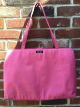KATE SPADE NEW YORK CLASSIC NYLON TOTE HANDBAG IN PINK VIVID SNAPDRAGON ... - $39.99